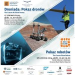 Droniada 2014 - pokaz dronów w Krakowie