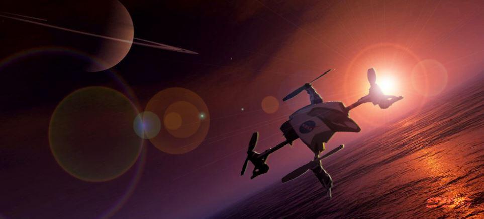 Drony NASA
