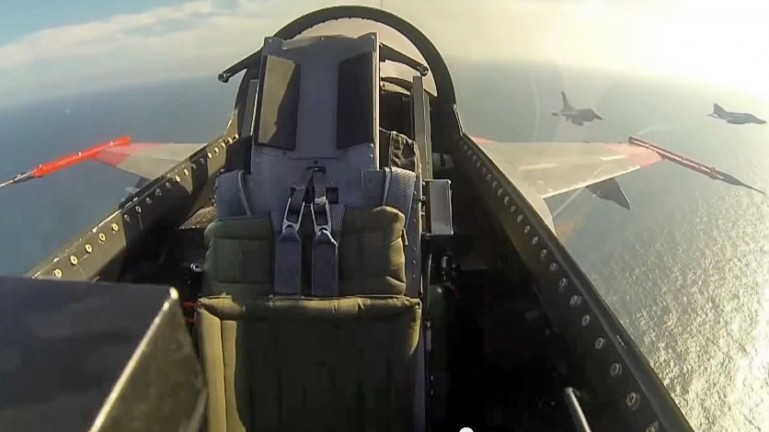 F-16 jako dron bezzałogowy