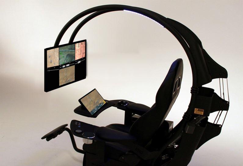 Fotel operatora drona Thales Group