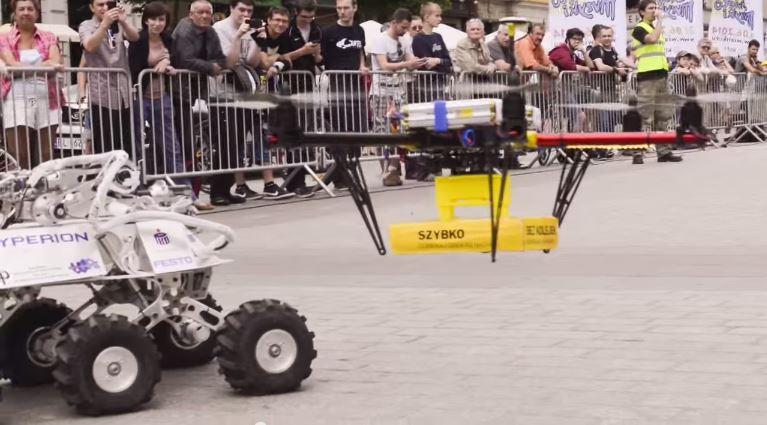 Drony InPost