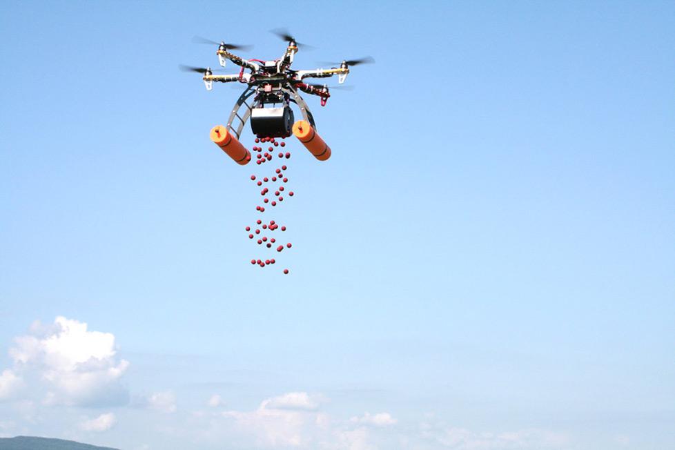 Helibaits HB06 - dron dla wędkarzy