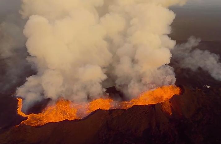 Erupcja wulkanu Bardabunga