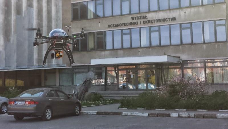 Drony na studiach - Politechnika Gdańska