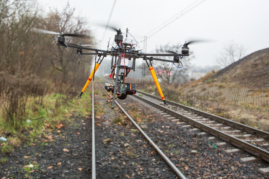 Drony w PKP Cargo?