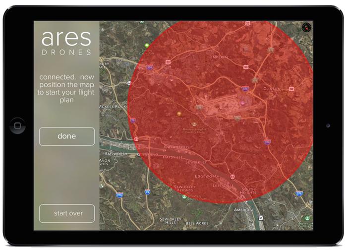 Aplikacja Ares Drones