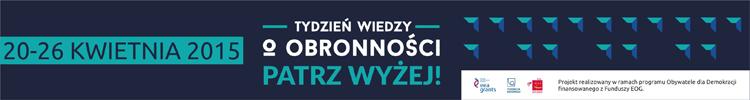 Tydzien Wiedzy o Obronnosci - banner 750x100