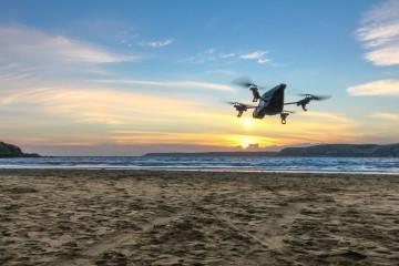Dron na wakacjach