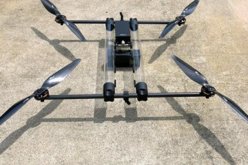 Hycopter - dron zasilany wodorem