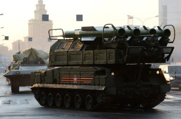 BUK air defence missile system