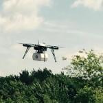 Dron Flirtey - lot z dostawą leków w Virginii