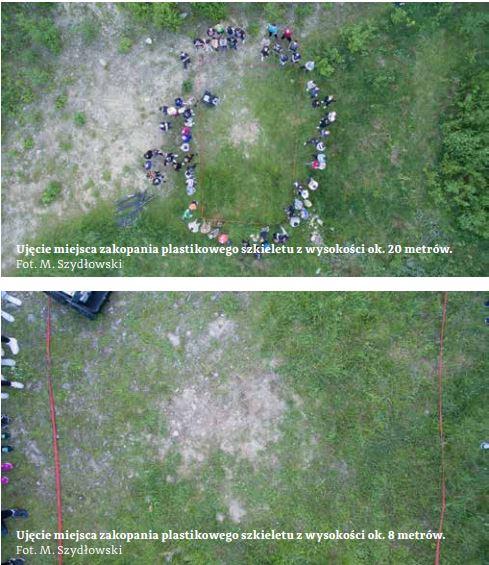 Dron detektyw wykrywa miejsce ukrycia zwłok