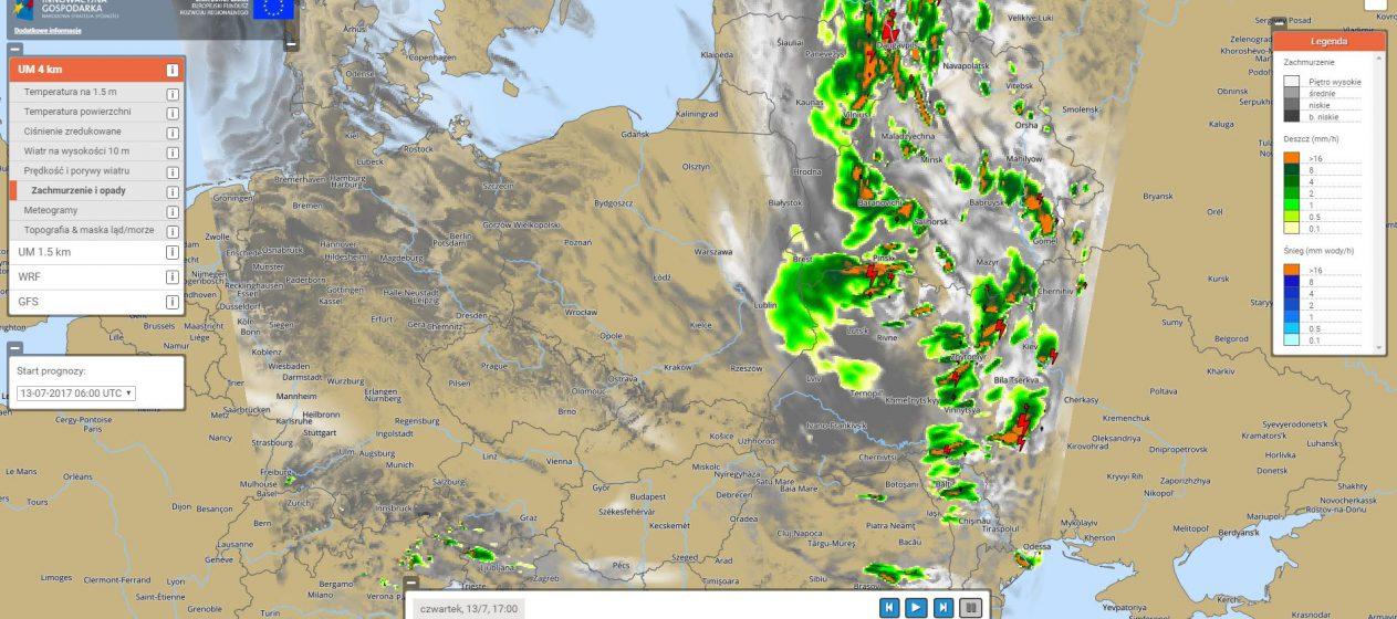 Przed Lotem Sprawdz Prognoze Pogody Swiat Dronow