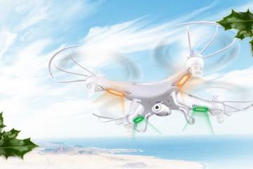 Drony dobre na prezent - Święta A.D. 2015