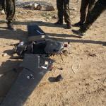 Amatorski dron ISIS z materiałem wybuchowym