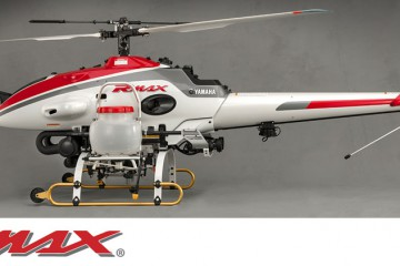 Yamaha RMAX - dron rolniczy