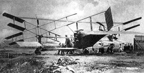 Bréguet-Richet Gyroplane No. 2 zbudowany rok później - wykonał sporo lotów, ale został zniszczony podczas jednego z lądowań