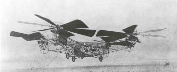 Jerome-de Bothezat Flying Octopus, 1922 r.