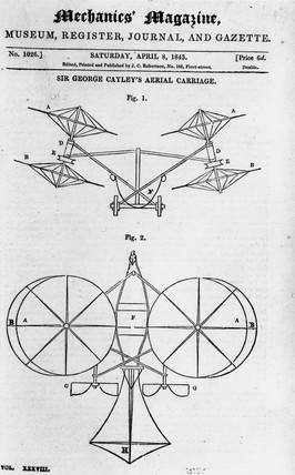Sir George Cayley - Aerial Carriage