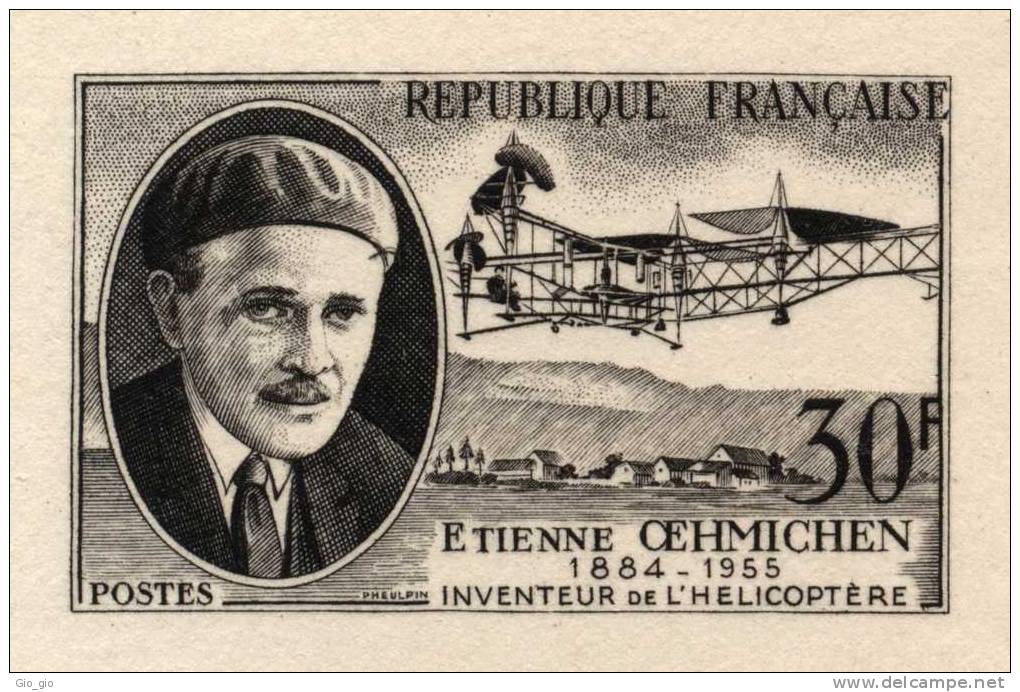 The Oemichen No. 2, 1920r, Étienne Oehmichen