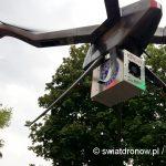 Dron Ogar od NoveltyRPAS z transporem krwi w ramach projektu AirVein