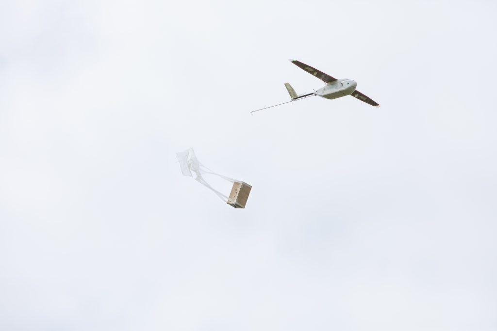 Drony do dostarczania szczepionek w Rwandzie