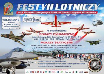 Festyn Lotniczy w Mirosławcu 2016