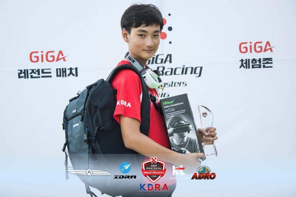 MinChan Kim na GIGA Drone Racing World Masters 2016