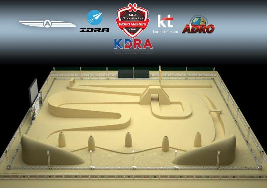 Tor wyścigowy na GIGA Drone Racing World Masters 2016