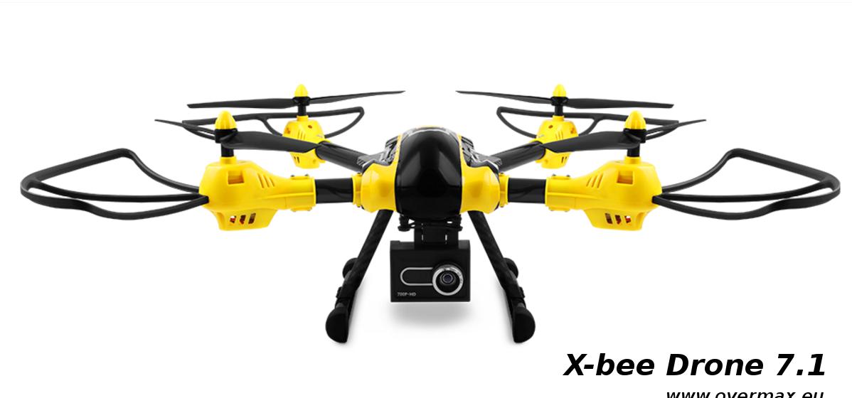 X-bee Drone 7.1 - Overmax.eu