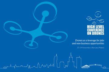 """Międzynarodowa Konferencja """"Drony jako źródło nowych miejsc pracy i wzrostu gospodarczego"""" - 23-24.11.2016"""