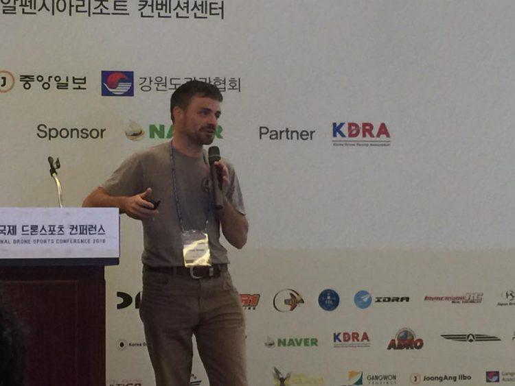World Drone Racing Summit w Korei