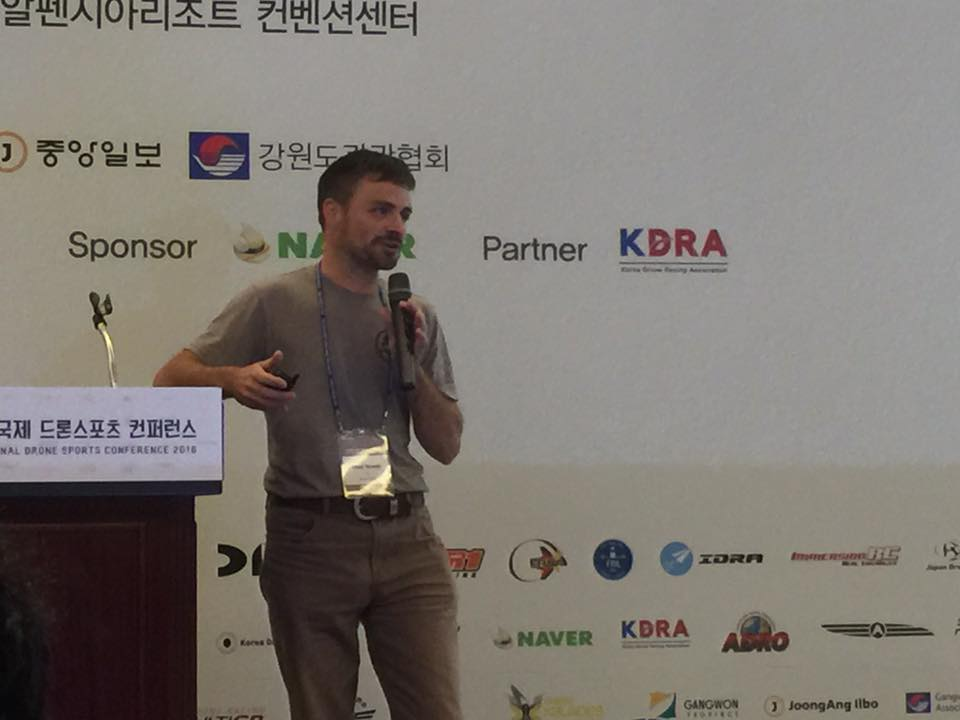 World Drone Racing Summit w Korei