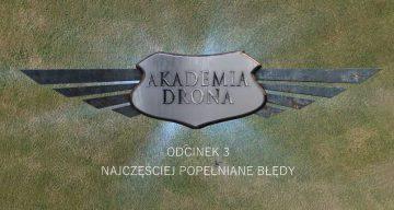 Akademia drona Overmax - część 3