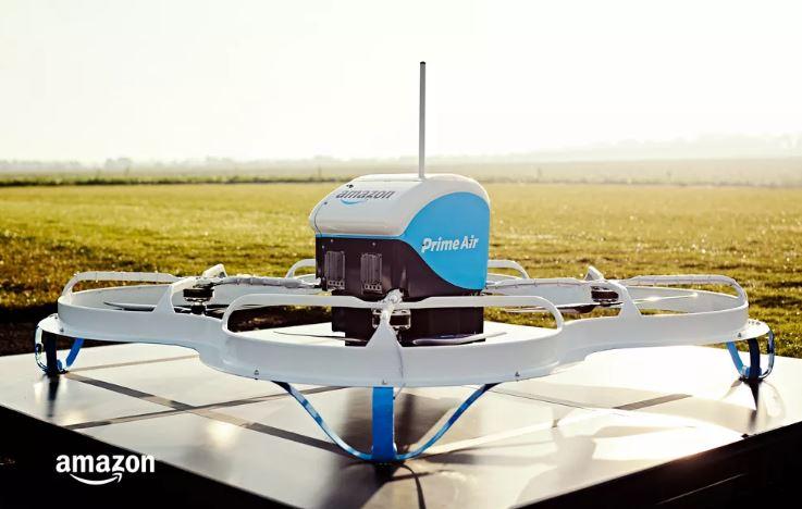 Dron Amazon Prime Air - 2016/2017