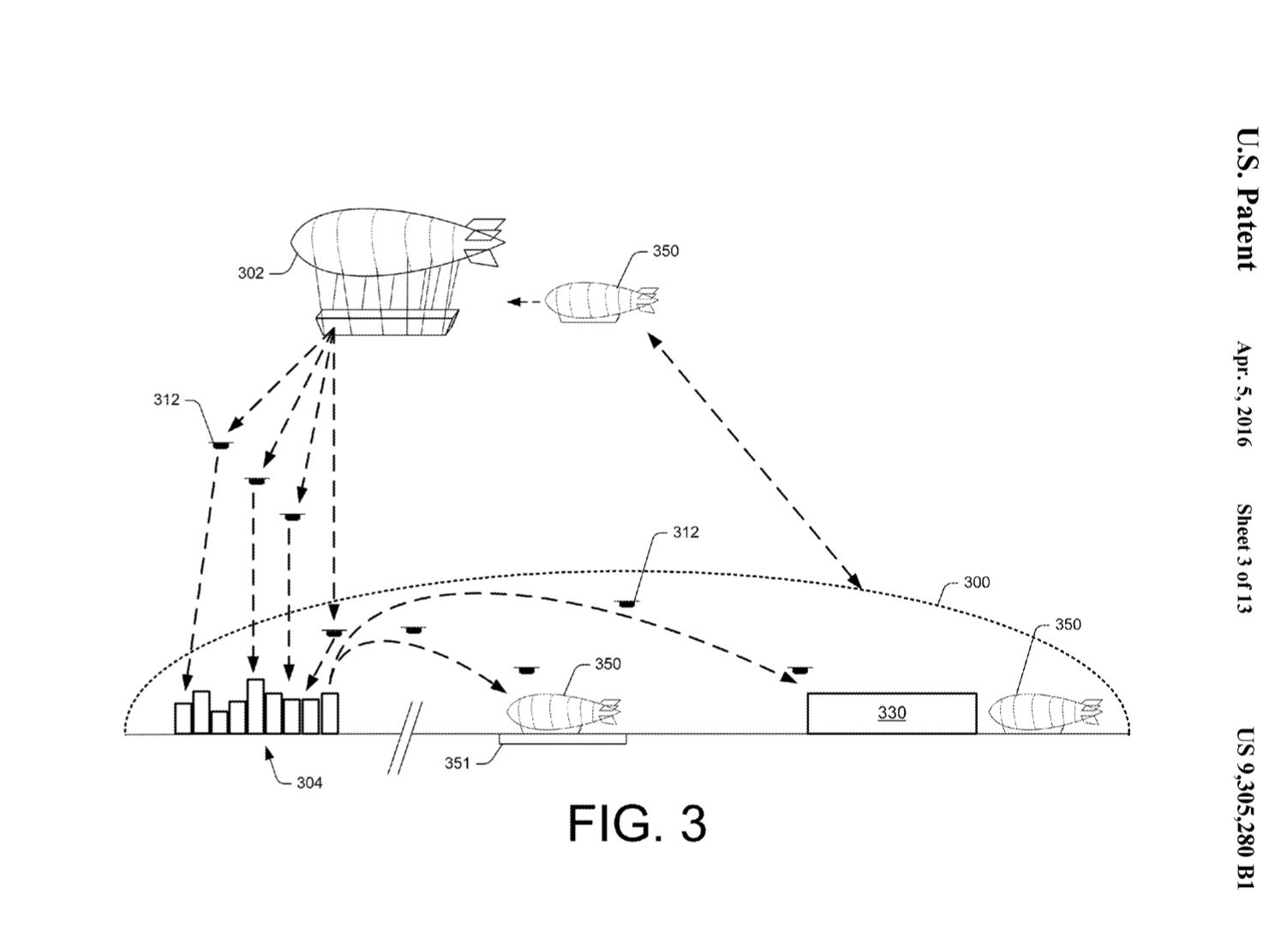 Amazon Prime Air - patent na wykorzystanie powietrznych magazynów