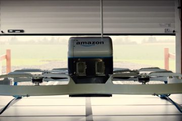 Amazon Prime Air - pierwsza dostawa
