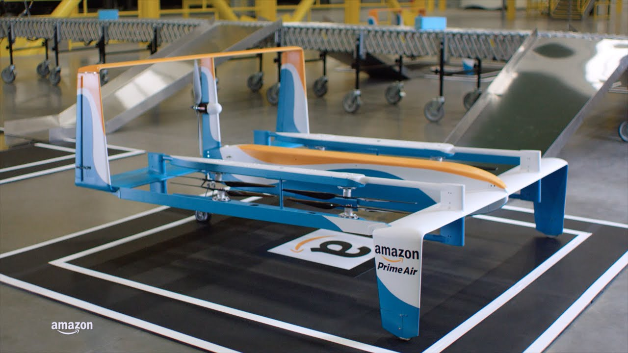 Dron Amazon Prime Air - 2015