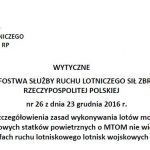 Wytyczne do lotów BSP w MATZ