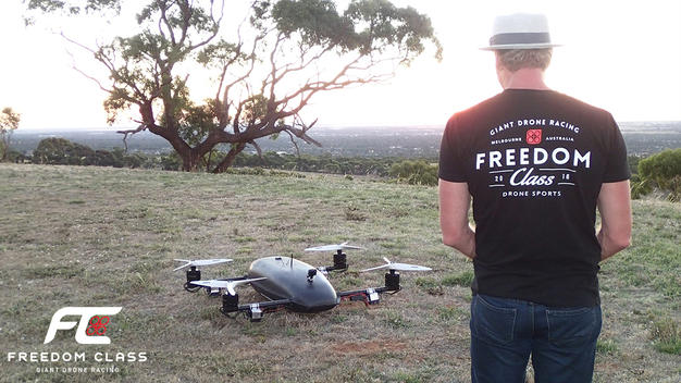 Freedom Class Racer - Giant Drone Racing