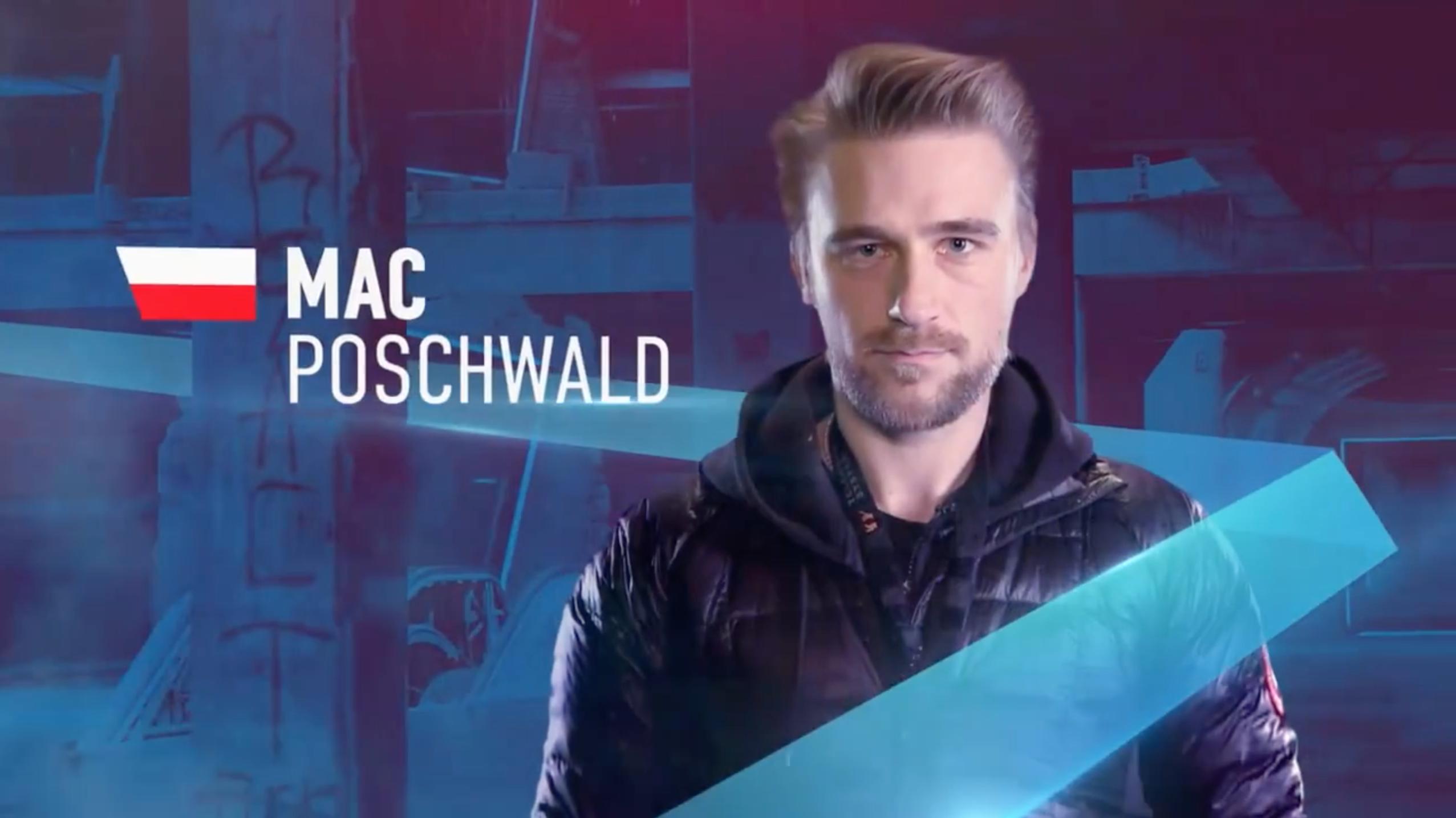 Maciej w czołówce programu o dronach wyścigowych w TVN Player
