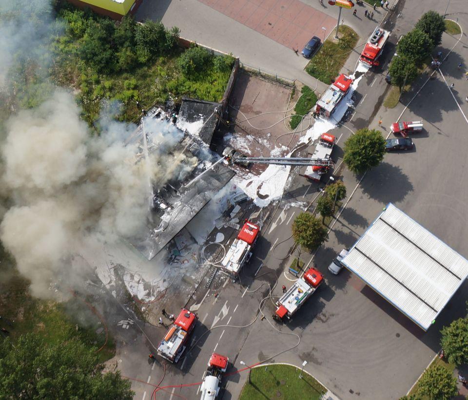 Drony w służbie pożarniczej