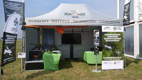 WITU & Dron House na Air Show 2017 w Radomiu