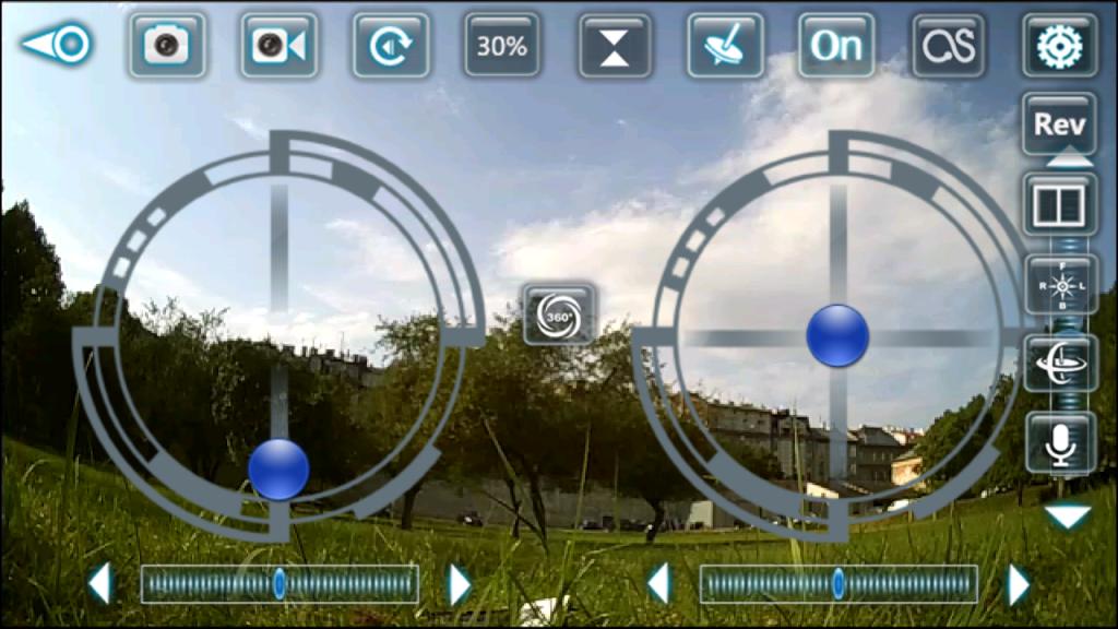 Aplikacja XSW UFO - recenzja swiatdronow.pl
