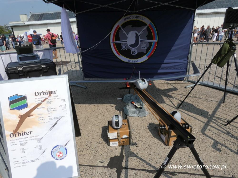 Dron Orbiter z 12. BBSP w Mirosławcu na Air Show Radom 2017