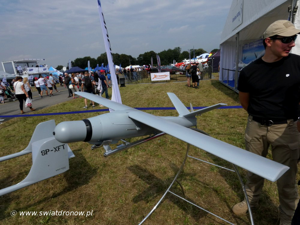 Dron Warmate od WB Group na Air Show Radom 2017
