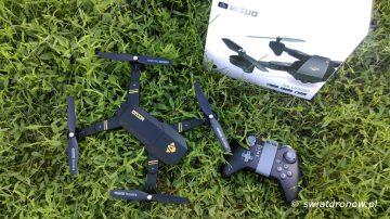 VISUO XS809HW - recenzja swiatdronow.pl