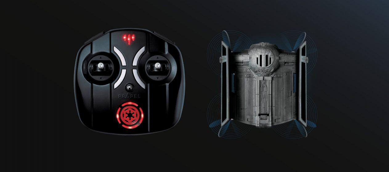 Drony Star Wars - Tie Advenced X1