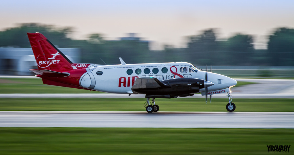 Beechcraft King Air A100 C-GJBV