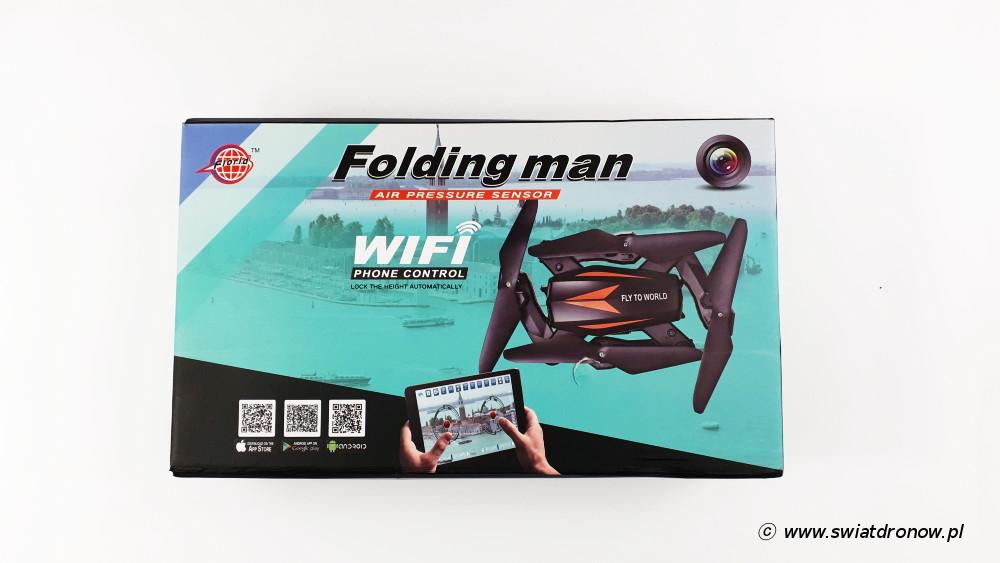 FlorId Folding Man F12W - dron zabawka z TomTop.com